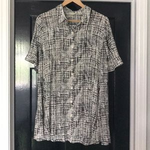 Anthropologie 11.1.Tylho Button Up Tunic Top